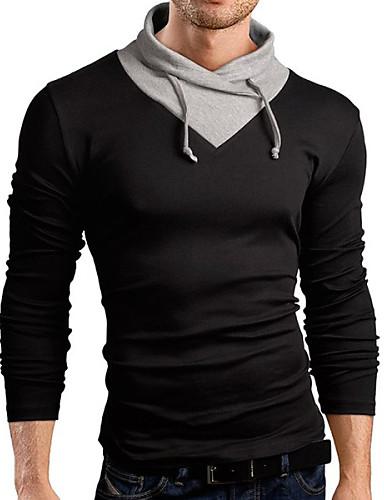 Herrn Solide T-shirt Baumwolle