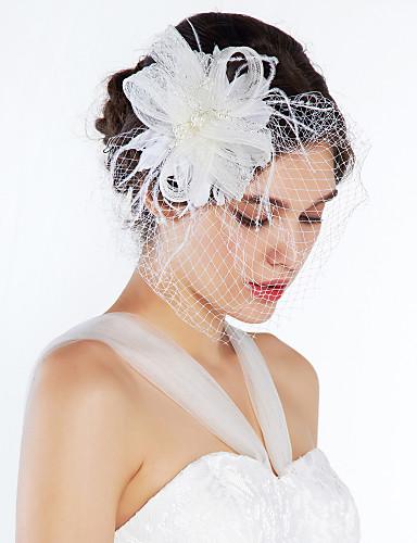 Žene Prodavačica cvijeća Til Glava-Vjenčanje Special Occasion Neformalan Cvijeće