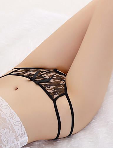 Dame Ultrasexy truse Gutteshorts og underbukse - Trykt mønster, Fargeblokk Medium Midje