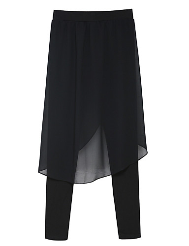 Damen Street Schick Übergrössen Eng Haremshosen Jeans Hose Solide