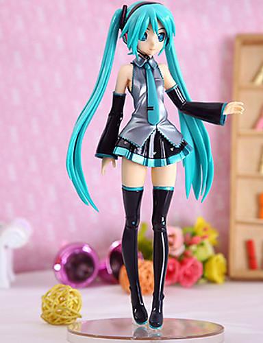 baratos Cosplay Anime-Figuras de Ação Anime Inspirado por Vocaloid Hatsune Miku PVC 21.5 cm CM modelo Brinquedos Boneca de Brinquedo Mulheres novo quente
