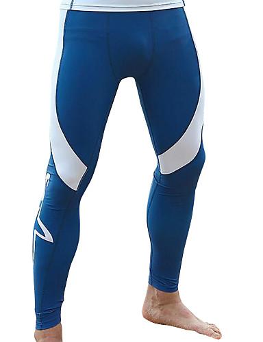 baratos Roupas de Mergulho & Camisas de Proteção-SABOLAY Homens Calça Legging de Mergulho Elastano Calças SPF50 Proteção Solar UV Secagem Rápida Natação Retalhos Primavera Verão Outono