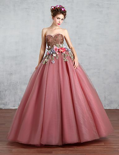 Księżniczka Suknia ślubna Kolorowe Suknie ślubne Sięgająca Podłoża W