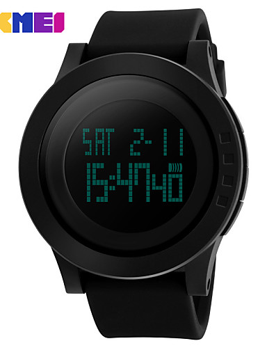Homens Digital Relogio digital Relógio de Pulso Relógio inteligente Relógio Esportivo Chinês Calendário Cronógrafo Impermeável Mostrador