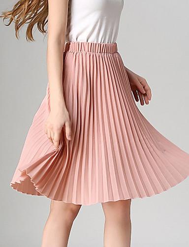 ženski novi stil svih utakmica plosnati suknja vintage visokog struka pokazuju tanke ženske suknje