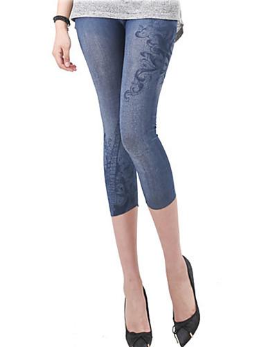 Női Napi Alap Legging - Egyszínű Közepes csípő