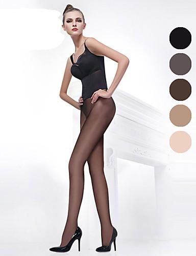 BONAS® Damen Einheitliche Farbe Dünn Legging-B16582