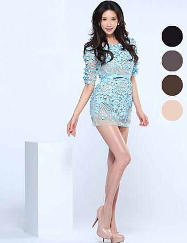 BONAS® Damen Einheitliche Farbe Dünn Legging-B16593