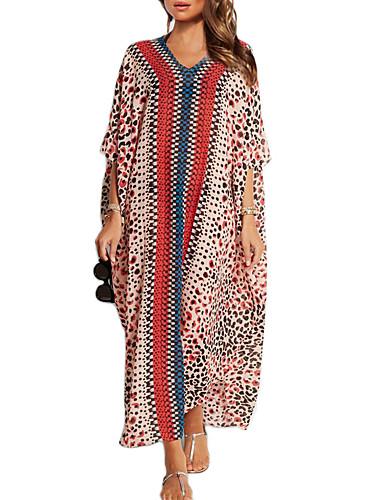 Vêtement couvrant Aux femmes Fleur Bandeau Mousseline de soie