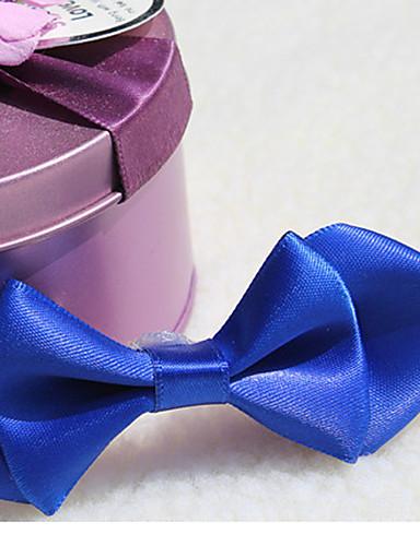 Para Meninas Para Meninos Gravatas e Laços Todas as Estações Misturas de algodão Preto Azul Escuro Roxo Vermelho Azul Real
