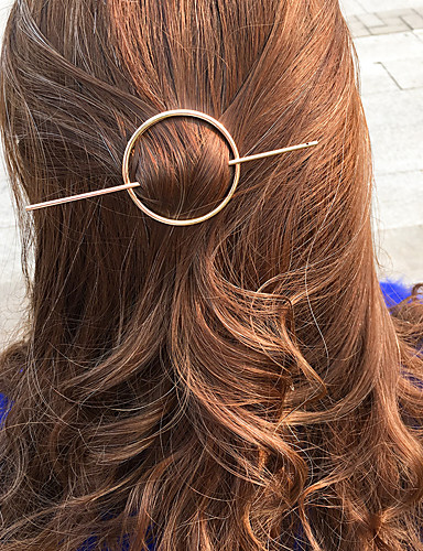 Damen Retro, Aleación Haar Clip Solide