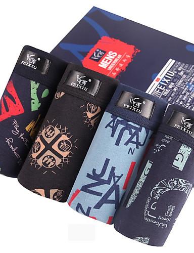 SHINO® Bomull / Bambus Karbon Fiber Boksere 4 / boks-F032