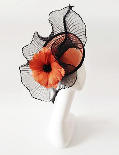 abordables Chapeau & coiffure-Lin Fascinators avec 1 Mariage / Occasion spéciale Casque