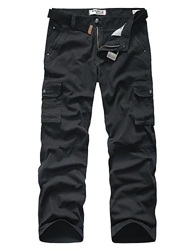 Hombre Algodón Pantalones de Deporte Pantalones - camuflaje / Deportes