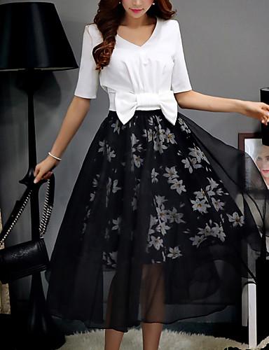 מידי-דק-סגנון-חצאית(פוליאסטר)