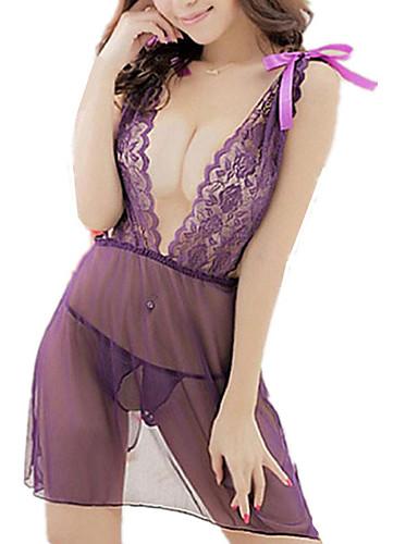 Mulheres Sexy Conjunto Roupa de Noite Jacquard
