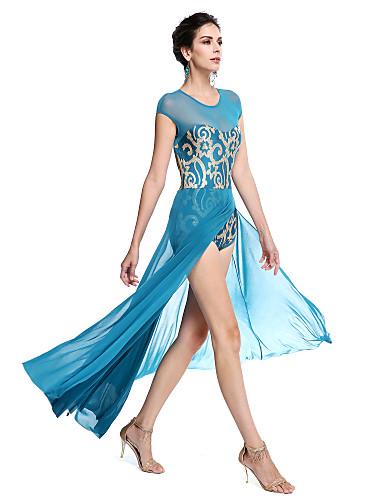 preiswerte Ballettbekleidung-Ballett Austattungen Damen Leistung Pailletten / Lycra Paillette Ärmellos Normal / Moderner Tanz / Aufführung