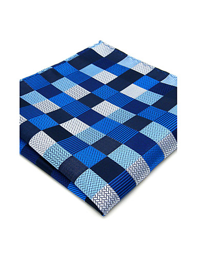 Hombre Cravat y Ascot - Fiesta / Trabajo / Básico Cuadrícula