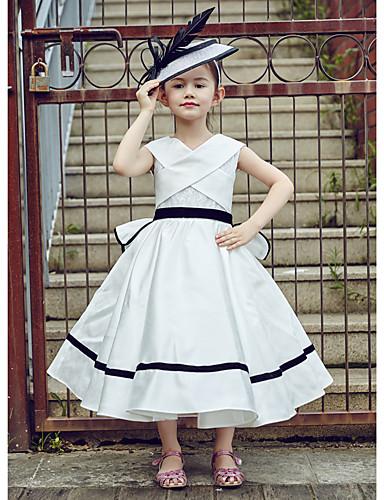 19f413599e1 Φόρεμα κορίτσι φόρεμα με μπάλα τσάι μήκος - φόρεμα από πολυεστέρα δαντέλα  χωρίς μανίκια με κορδέλα 5368566 2019 – $99.99