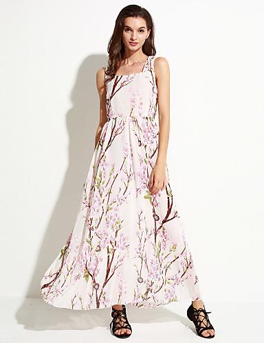 Μάξι - Παραλίας - Φόρεμα - Σιφόν