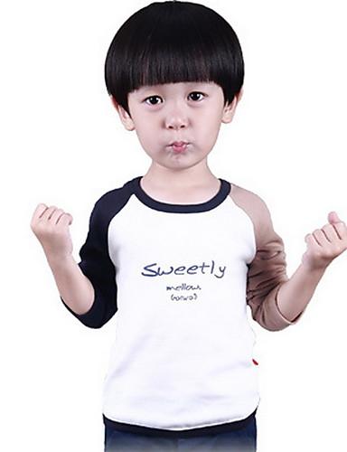 男の子 カジュアル/普段着 ゼブラプリント コットン Tシャツ 秋 長袖