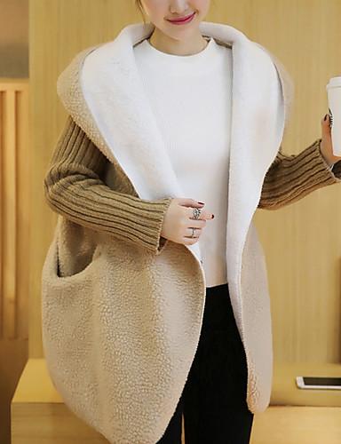 女性用 コート-ベーシック ソリッド