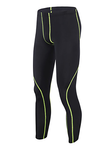 52b7616dfc GETMOVING Men's Compression Pants Running Tights Gym Leggings Sports Solid  Colored Spandex Tracksuit Compression Clothing Fitness Gym Workout Exercise  Plus ...