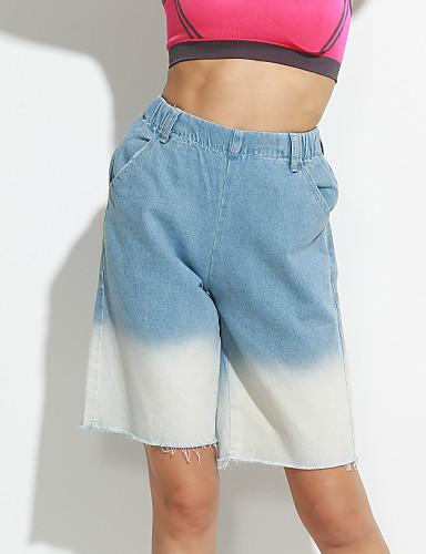 Dame Afslappet Jeans Bukser Multi Farve