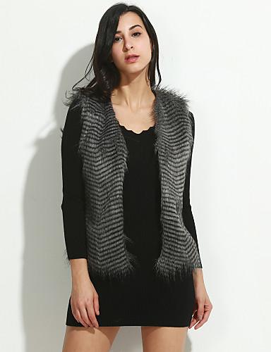 Damen Oberbekleidung  -  Kunstpelz