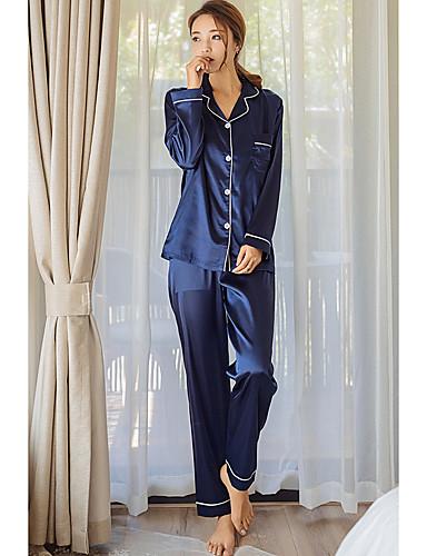 bafe9928 Dame Pyjamas Silke Satin Syntetisk silke 5537133 2019 – $21.77