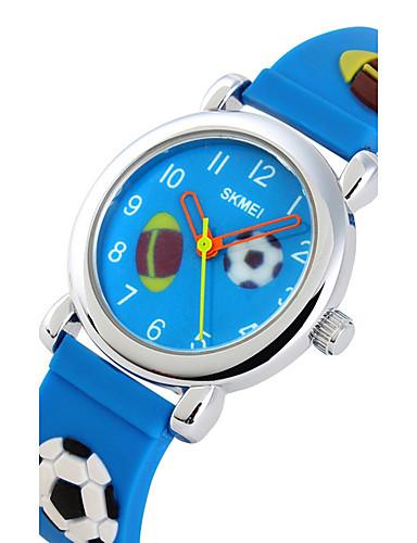 Pánské Sportovní hodinky Hodinky s lebkou Náramkové hodinky Křemenný 50 m  Žhavá sleva Silikon Kapela Analogové 92c0ee5852