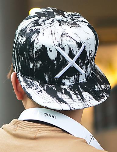 قبعة شمسية قبعة البيسبول بقع قطن للجنسين