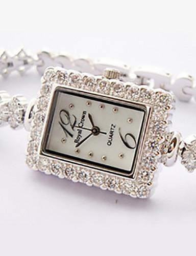 voordelige Armband Horloge-Dames Modieus horloge Kwarts Legering Band Wit Goud