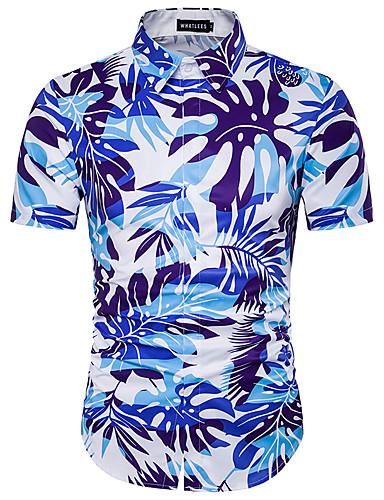남성용 셔츠, 시누아즈리 면 프린트