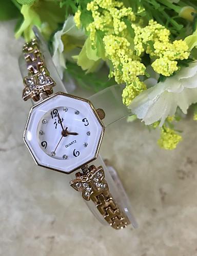 Dámské Náramkové hodinky Maketa Diamant Hodiny Módní hodinky čínština Křemenný / imitace Diamond Slitina Kapela Na běžné nošení Růžové