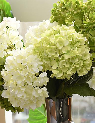 رخيصةأون مجال-زهور اصطناعية 1 فرع الطراز الأوروبي أرطنسية أزهار الطاولة