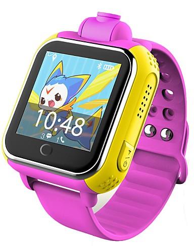 billige Udsalg-q730 kid smart klokke med kamera bt 4.0 fitness tracker støtte varsle & gps smartwatch