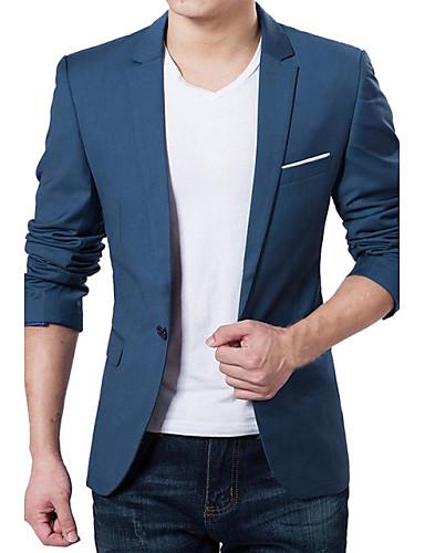 Men's Business Simple Slim Blazer - Solid Colored
