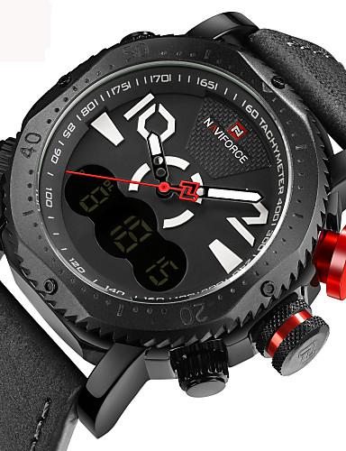 Homens Adolescente Relogio digital Único Criativo relógio Relógio de Pulso Bracele Relógio Relógio Militar Relógio Elegante Relógio de