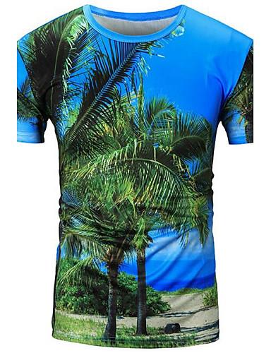 Herrn Druck - Freizeit Sport Baumwolle T-shirt, Rundhalsausschnitt / Bitte wählen Sie eine Nummer größer als Ihre normale Größe.