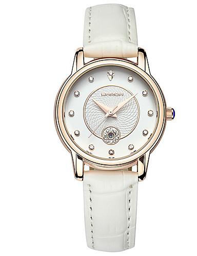 Dámské Módní hodinky Křemenný Kůže Kapela Na běžné nošení Černá Bílá Hnědá Rose