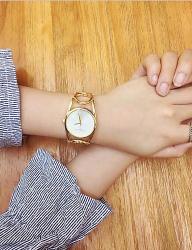 Dámské Módní hodinky Náramkové hodinky Unikátní Creative hodinky čínština Křemenný Nerez KapelaRetro Náramek Cool Běžné nošení kreativita