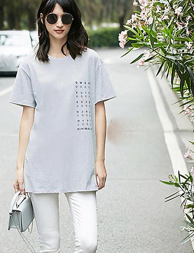 Naisten Lainaukset Yksinkertainen T-paita