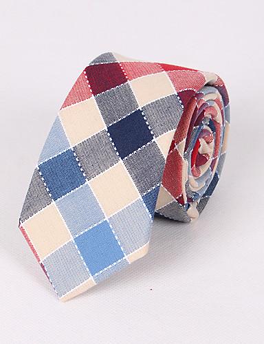 ربطة العنق شيك قطن, ملابس برقبة للرجال