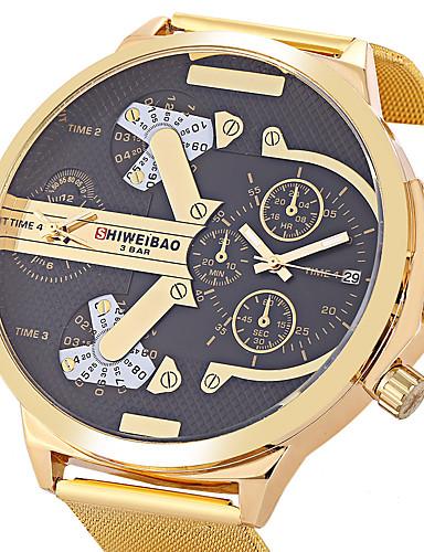 Homens Único Criativo relógio Relógio de Pulso Bracele Relógio Relógio Militar Relógio Elegante Relógio de Moda Relógio Esportivo Relógio