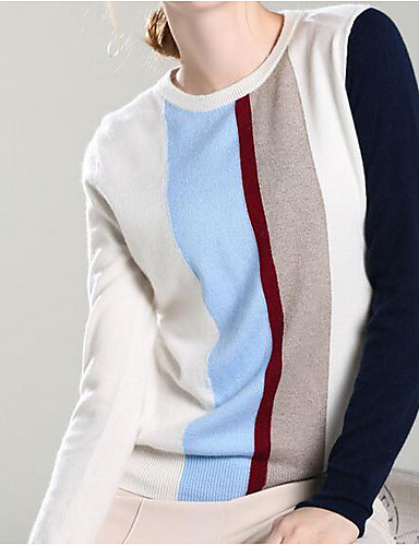 Women's Going out Daily Vintage Casual Cute Long Pullover