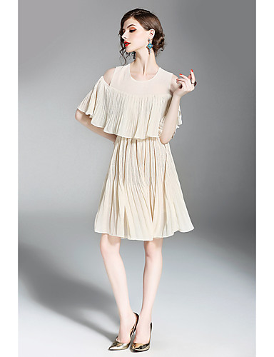 Women's Holiday Going out Daily Simple Street chic A Line Loose Dress