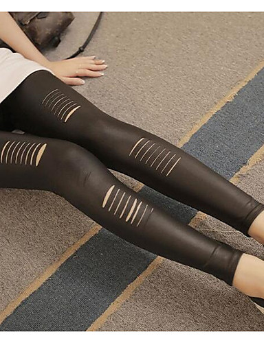 Women's Thin Solid Colored Legging