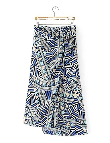 Women's Going out Daily Asymmetrical Skirts