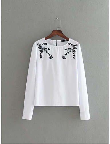 Women's Going out Daily Casual Cute Street chic Summer Fall Shirt